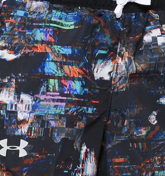 Under Armour Girls' UA Fast Lane Printed Shorts
