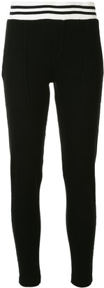 Electric & Rose Monroe cotton track pants