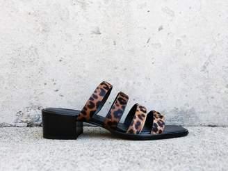 Freda Salvador INGRID Square Toe Strappy Mid Heel - Final Sale
