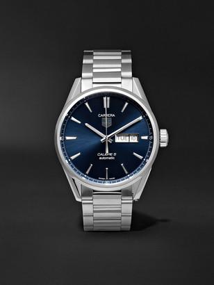 Tag Heuer Carrera Automatic 41mm Steel Watch, Ref. No. War201e.ba0723