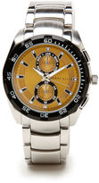 Perry Ellis Silvertone Alloy Bracelet Watch