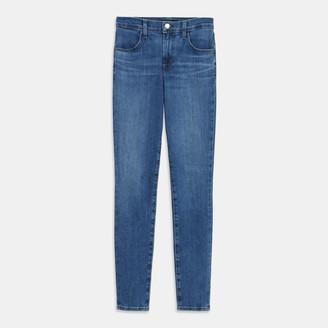 J Brand Maria High-Rise Skinny Jean in Comfort Stretch