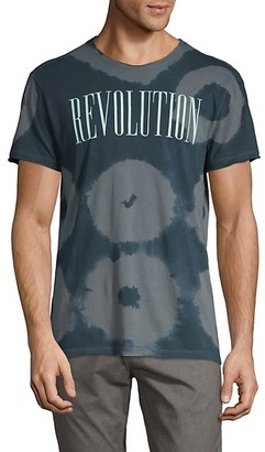 John Varvatos Tie-Dyed Cotton Tee