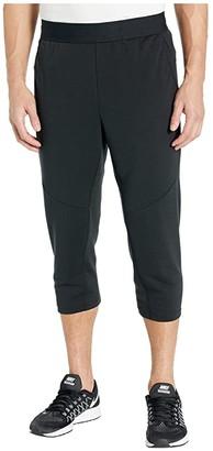 Nike Dry Fleece Pants 3/4 Hyper Dry (Black/Black) Men's Casual Pants