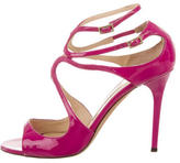Jimmy Choo Patent Leather Lang Sandals