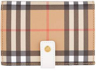 Burberry Marylebone House Check Wallet