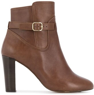 Tila March Side-Buckle Ankle Boots