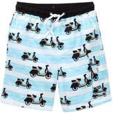 Snapper Rock Vespa Classic Boardie Shorts (Toddler, Little Boys, & Big Boys)