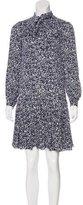 Michael Kors Abstract Print Silk Dress w/ Tags
