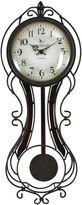 Asstd National Brand FirsTime Fleur De Lis Wall Clock