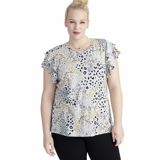 Rachel Roy Women's Plus Size IRIS TEE