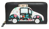 Kate Spade Women's Scenic Route Car Applique Lacey Wallet - Black