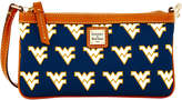 Dooney & Bourke West Virginia Mountaineers Large Wristlet
