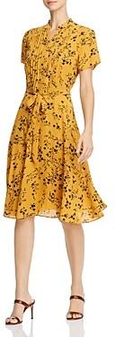 Nanette Lepore nanette Pintucked Floral Dress