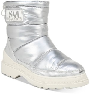 Sam Edelman Carlton Puffer Ankle Boots Women's Shoes