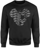 Danger Mouse Word Face Sweatshirt - Black