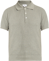 Brioni Waffle-weave cotton polo shirt