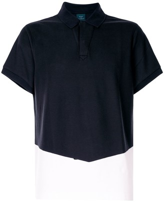 Kent & Curwen Two-Tone Polo Shirt