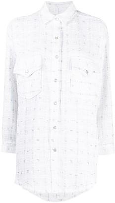 IRO Minko long-sleeve overshirt