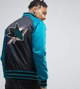 Majestic Sharks Souvenir Jacket Exclusive to ASOS