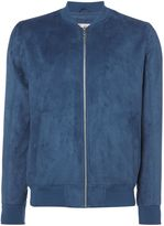 Jack and Jones Men's Howard Faux Suede Bomber