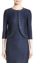 St. John Women's Jiya Sparkle Knit Jacket