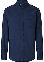 Gant American Long Sleeve Shirt, Navy