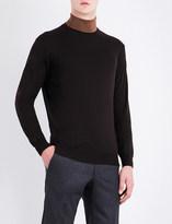 Corneliani Crewneck wool jumper