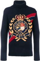 Polo Ralph Lauren crest turtleneck sweater