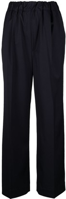 Nine In The Morning High-Rise Elasticated Trousers
