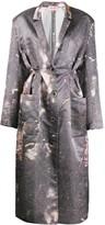 Natasha Zinko oversized pleated robe dress