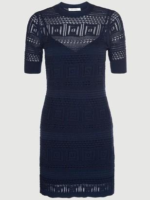 Frame Open Stitch 70s Dress