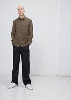 Maison Margiela military garment dyed slim fit shirt
