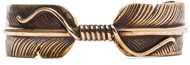 Pamela Love Feather Cuff in Bronze