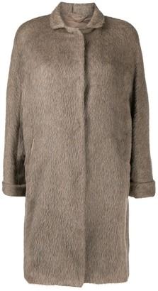Herno Three-Quarter Length Sleeve Wool Coat