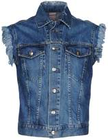 (+) People + PEOPLE Denim outerwear - Item 42611856