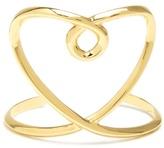 Chloé Twisted-heart cuff
