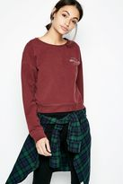 Jack Wills Avenbury Cropped Sweatshirt