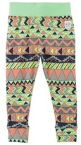 Indikidual Multi Aztec Print Stripe Leggings