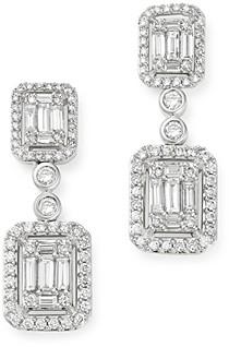 Bloomingdale's Diamond Mosaic Drop Earrings in 14K White Gold, 2.0 ct. t.w. - 100% Exclusive