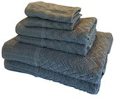 Metro 100% Cotton 6-piece Chevron Towel Set (Grey)