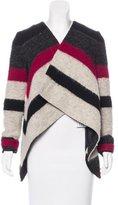 Thakoon Wool Striped Cardigan