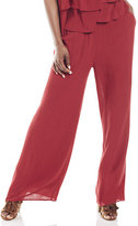 New York & Co. Textured Palazzo Pant