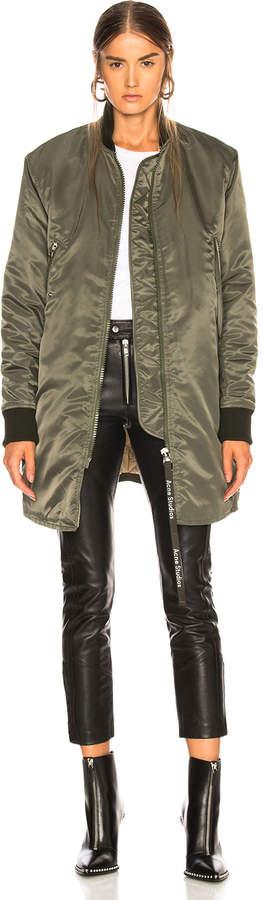 Acne Studios Long Bomber Jacket