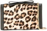 Moschino leopard print crossbody bag