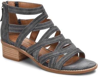 Comfortiva Betha Suede Sandal Wide