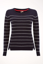 White Stuff Navy Meadow Sweater