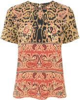 Etro baroque patterned blouse