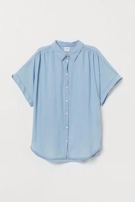 H&M Lyocell-blend blouse