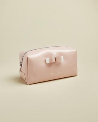 Ted Baker HALSEY Bow detail make up bag